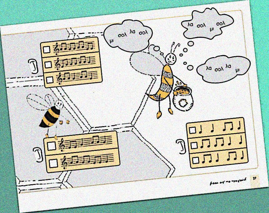 Μουσικά παιχνίδια – Προετοιμασία για το dictée